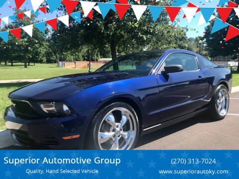 2011 Ford Mustang for sale at Superior Automotive Group in Owensboro KY