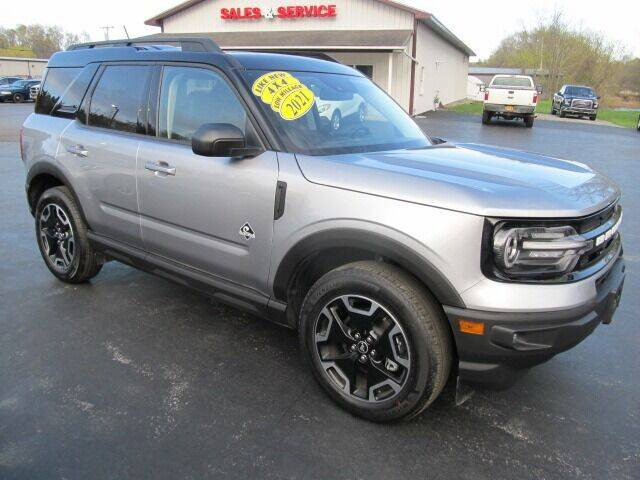 2021 Ford Bronco Sport for sale at Thompson Motors LLC in Attica NY