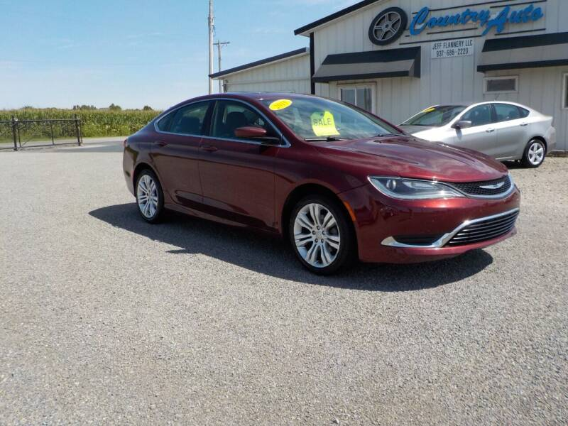 2015 Chrysler 200 for sale at Country Auto in Huntsville OH