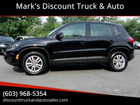 2014 Volkswagen Tiguan for sale at Mark's Discount Truck & Auto in Londonderry NH