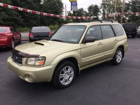 2004 Subaru Forester for sale at GMG AUTO SALES in Scranton PA