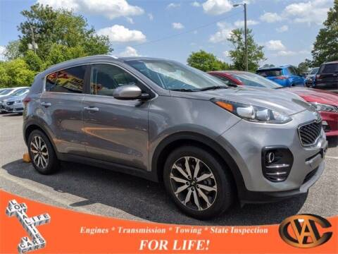 2017 Kia Sportage for sale at VA Cars Inc in Richmond VA