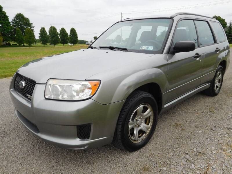 2007 Subaru Forester for sale at WESTERN RESERVE AUTO SALES in Beloit OH