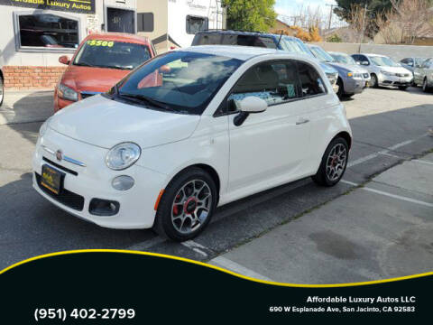 2015 FIAT 500 for sale at Affordable Luxury Autos LLC in San Jacinto CA