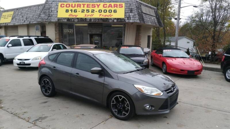 2012 Ford Focus for sale at Courtesy Cars in Independence MO