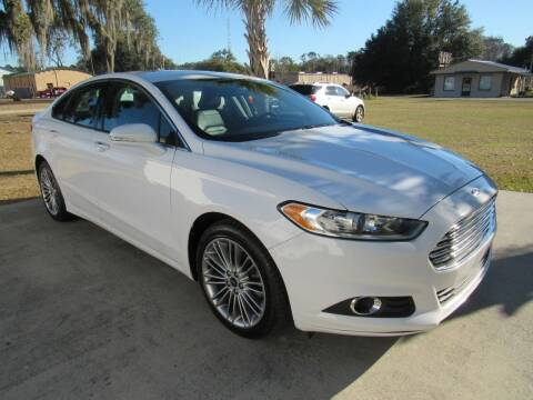 2016 Ford Fusion for sale at D & R Auto Brokers in Ridgeland SC