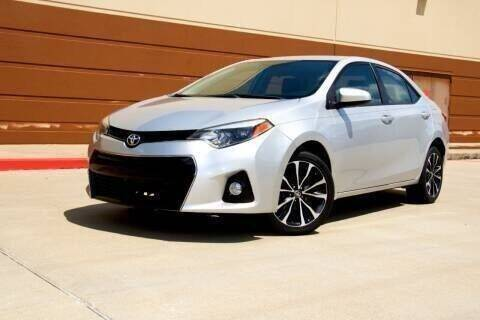 2015 Toyota Corolla for sale at Auto Hunters in Houston TX