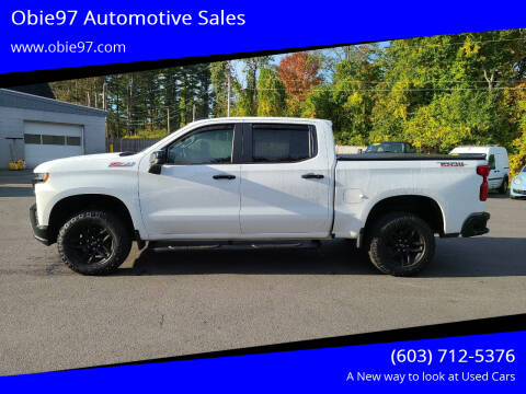 2019 Chevrolet Silverado 1500 for sale at Obie97 Automotive Sales in Londonderry NH