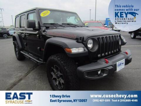 2019 Jeep Wrangler Unlimited for sale at East Syracuse Performance Sales & Service in Syracuse NY