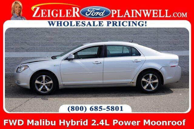2009 Chevrolet Malibu Hybrid for sale at Zeigler Ford of Plainwell- Jeff Bishop in Plainwell MI