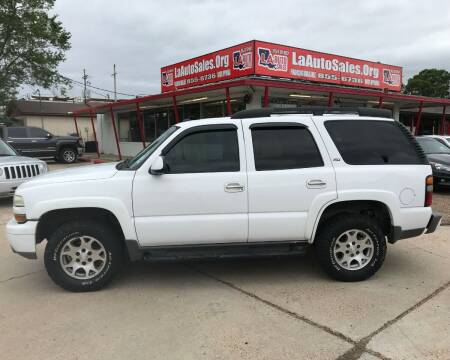 2005 Chevrolet Tahoe for sale at LA Auto Sales in Monroe LA