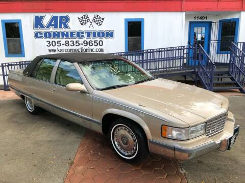 1996 Cadillac Fleetwood for sale at Kar Connection in Miami FL