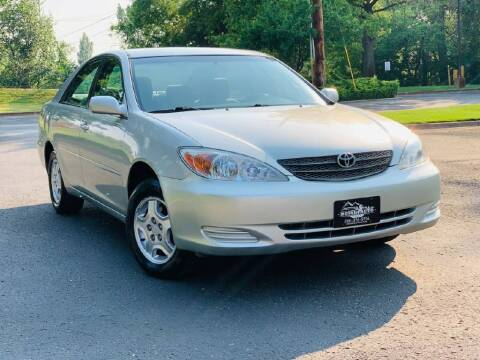 2002 Toyota Camry for sale at Boise Auto Group in Boise ID