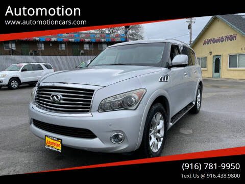 2011 Infiniti QX56 for sale at Automotion in Roseville CA