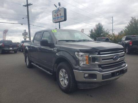2018 Ford F-150 for sale at S&S Best Auto Sales LLC in Auburn WA