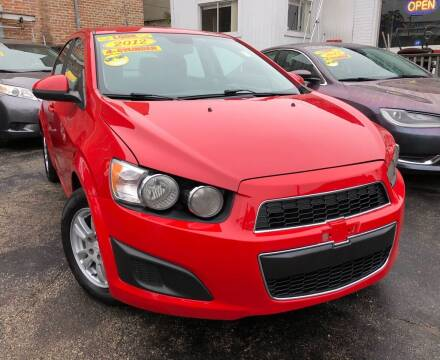 2012 Chevrolet Sonic for sale at Jeff Auto Sales INC in Chicago IL