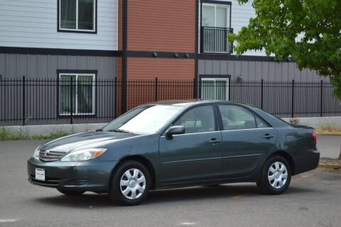 2003 Toyota Camry for sale at Skyline Motors Auto Sales in Tacoma WA