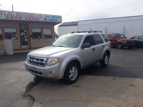 2008 Ford Escape for sale at Flag Motors in Columbus OH