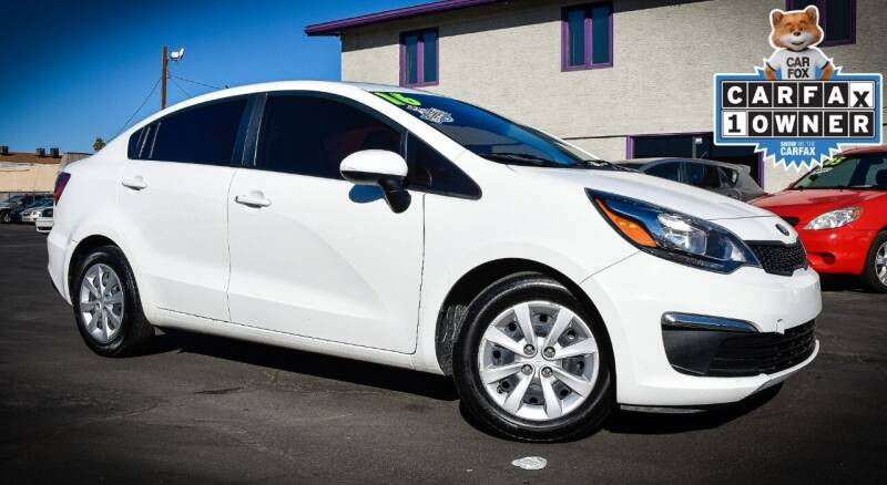 2016 Kia Rio for sale at Rahimi Automotive Group in Yuma AZ