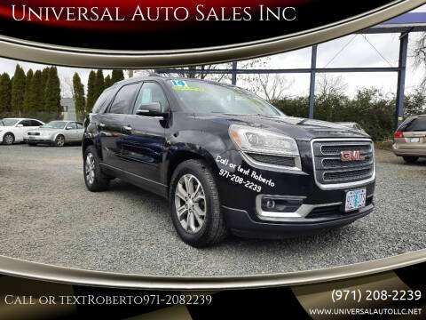 2014 GMC Acadia for sale at Universal Auto Sales Inc in Salem OR
