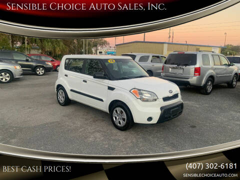 2010 Kia Soul for sale at Sensible Choice Auto Sales, Inc. in Longwood FL