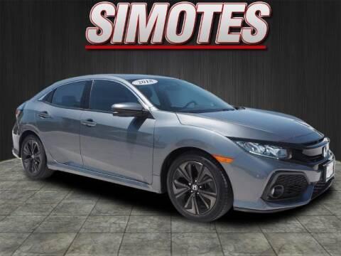 2018 Honda Civic for sale at SIMOTES MOTORS in Minooka IL