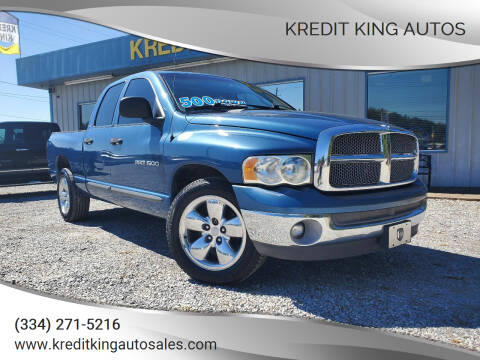2002 Dodge Ram Pickup 1500 for sale at Kredit King Autos in Montgomery AL