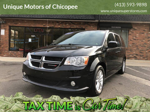 2018 Dodge Grand Caravan for sale at Unique Motors of Chicopee in Chicopee MA