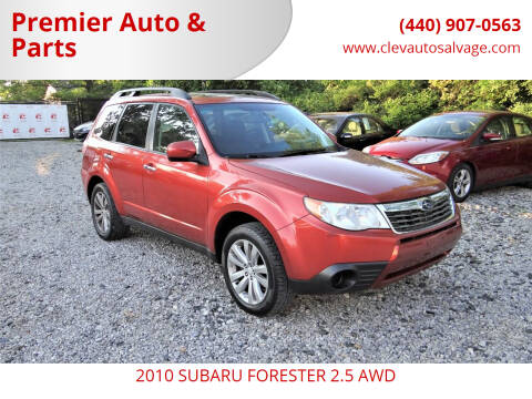 2010 Subaru Forester for sale at Premier Auto & Parts in Elyria OH