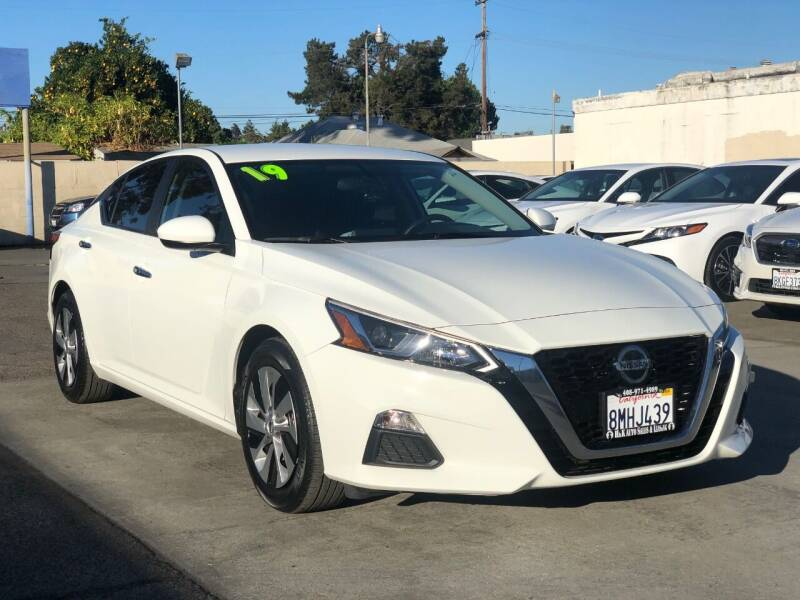 2019 Nissan Altima for sale at H & K Auto Sales & Leasing in San Jose CA