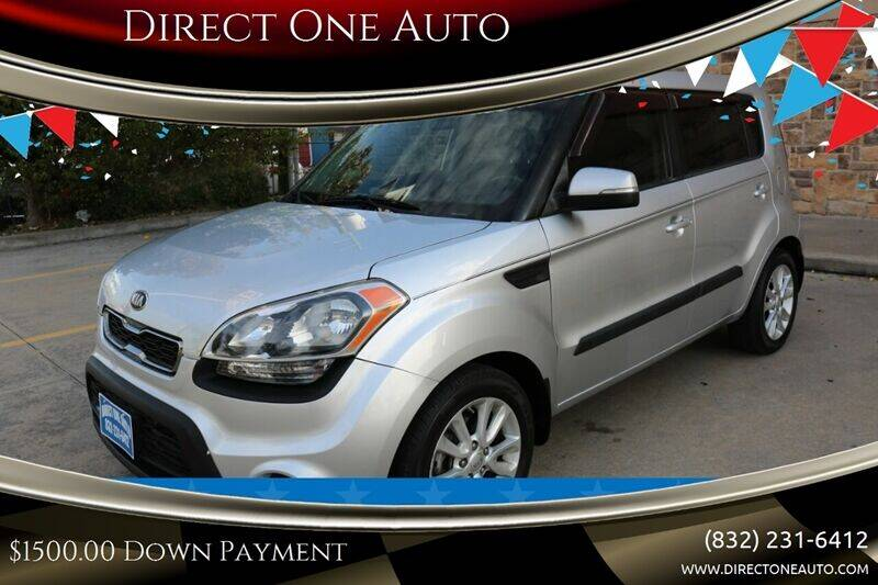 2013 Kia Soul for sale at Direct One Auto in Houston TX