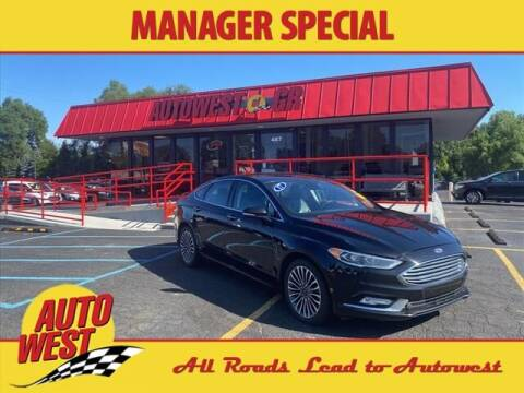 2017 Ford Fusion for sale at Autowest of GR in Grand Rapids MI