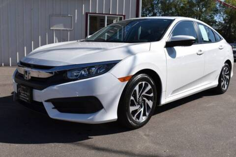 2017 Honda Civic for sale at Dealswithwheels in Inver Grove Heights MN