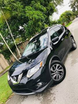 2016 Nissan Rogue for sale at IRON CARS in Hollywood FL