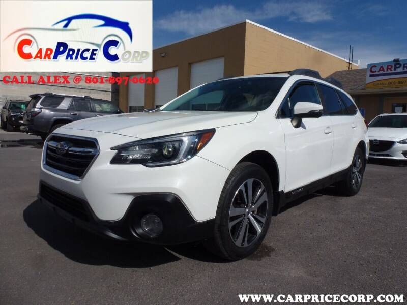 2018 Subaru Outback for sale at CarPrice Corp in Murray UT