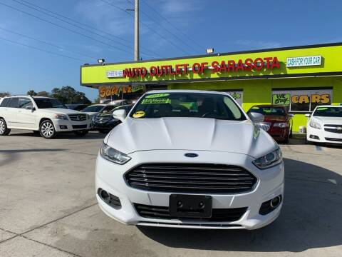 2013 Ford Fusion for sale at Auto Outlet of Sarasota in Sarasota FL