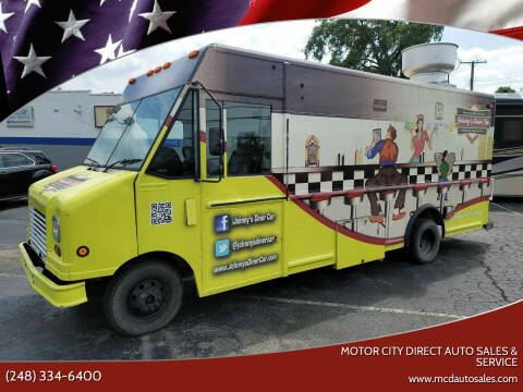 2007 Ford E-Series Chassis for sale at Motor City Direct Auto Sales & Service in Pontiac MI