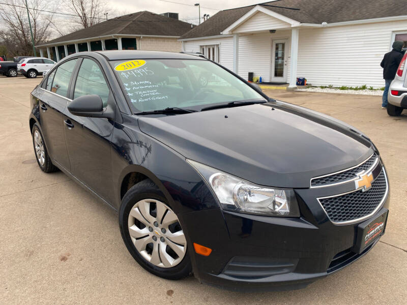 2012 Chevrolet Cruze for sale at CarNation Auto Group in Alliance OH