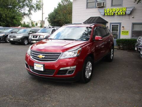 2014 Chevrolet Traverse for sale at Loudoun Used Cars in Leesburg VA