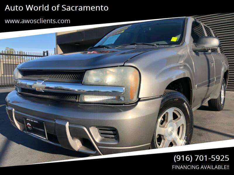 2006 Chevrolet TrailBlazer for sale at Auto World of Sacramento Stockton Blvd in Sacramento CA