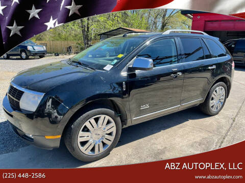 2008 Lincoln MKX for sale at ABZ Autoplex, LLC in Baton Rouge LA