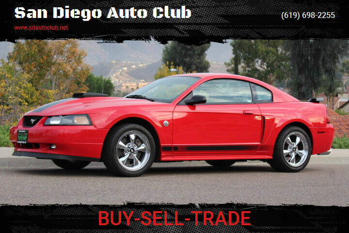 2004 Ford Mustang for sale at San Diego Auto Club in Spring Valley CA