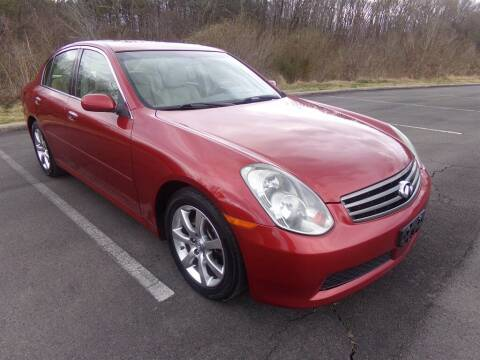 2005 Infiniti G35 for sale at J & D Auto Sales in Dalton GA