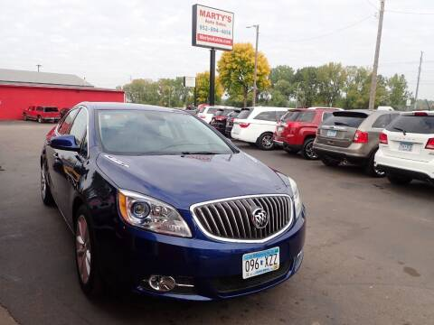 2014 Buick Verano for sale at Marty's Auto Sales in Savage MN