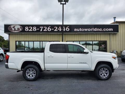 2018 Toyota Tacoma for sale at AutoWorld of Lenoir in Lenoir NC