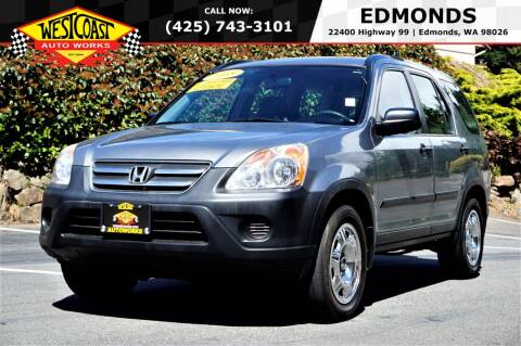 2005 Honda CR-V for sale at West Coast Auto Works in Edmonds WA
