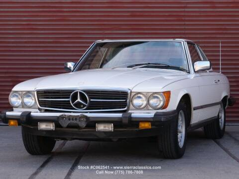 1980 Mercedes-Benz 450-Class for sale at Sierra Classics & Imports in Reno NV
