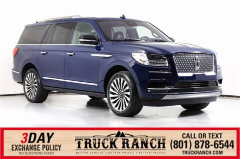 2019 Lincoln Navigator L for sale at Truck Ranch in American Fork UT