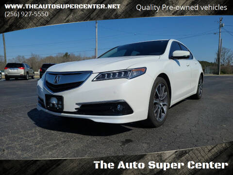 2015 Acura TLX for sale at The Auto Super Center in Centre AL