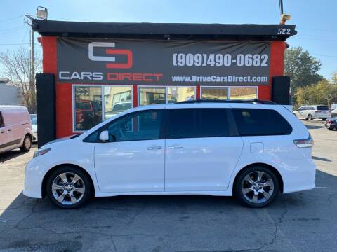 2013 Toyota Sienna for sale at Cars Direct in Ontario CA